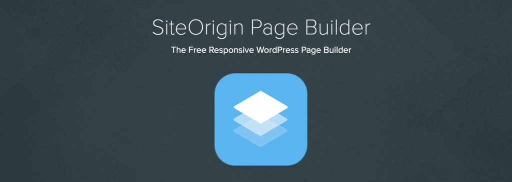 Siteorigin Pagebuilder